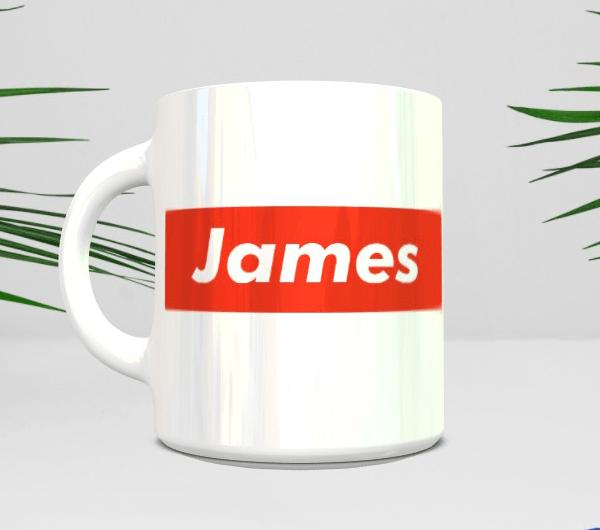Supreme Style Name mug