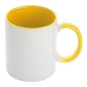 mok wit donker geel
